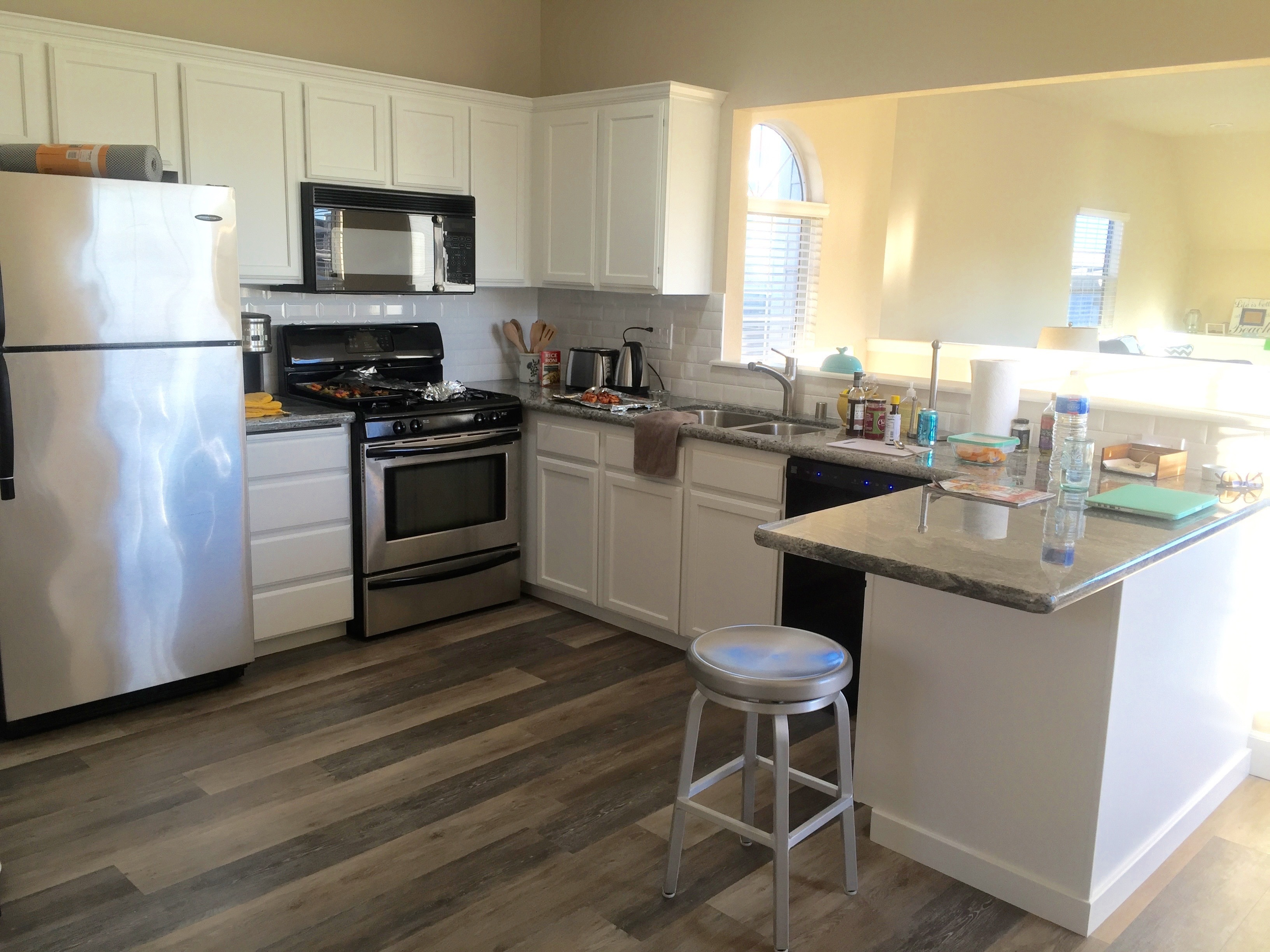 Home remodeling in cayucos ca take a look at this for Updated kitchen remodels