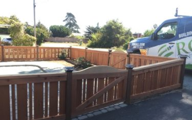 Building a Patio Fence With Style & Privacy in Coastal CA