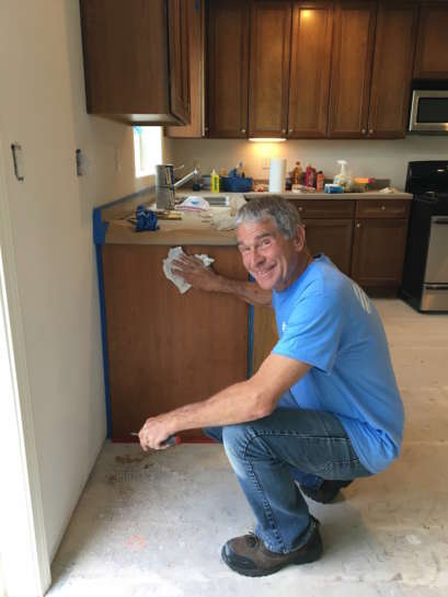 Cabinet Painting Refinishing San Luis Obispo County 1