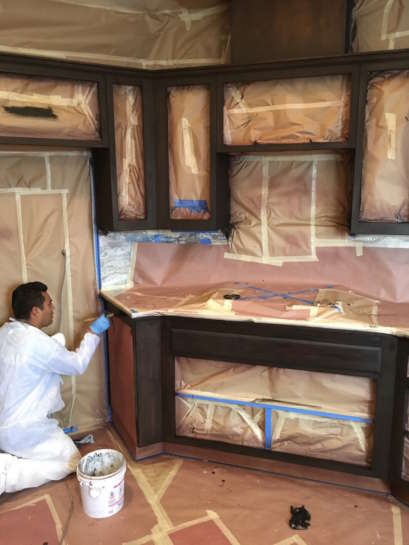 Cabinet Painting Refinishing San Luis Obispo County 2