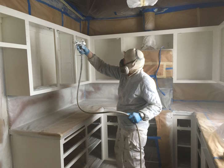 Cabinet Painting Refinishing San Luis Obispo County 3