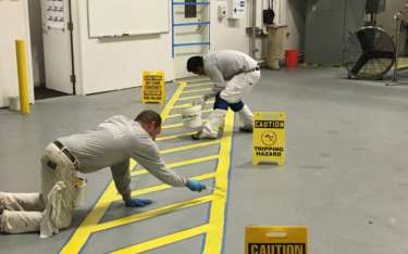 Would Painting Floor Lines Benefit Your Commercial Facility?