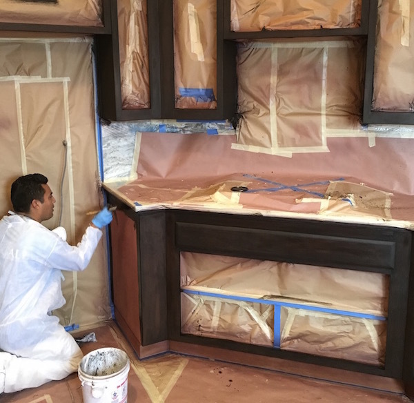 Refinishing Stained Kitchen Cabinets: Professional Cabinet Refinishing In Nipomo