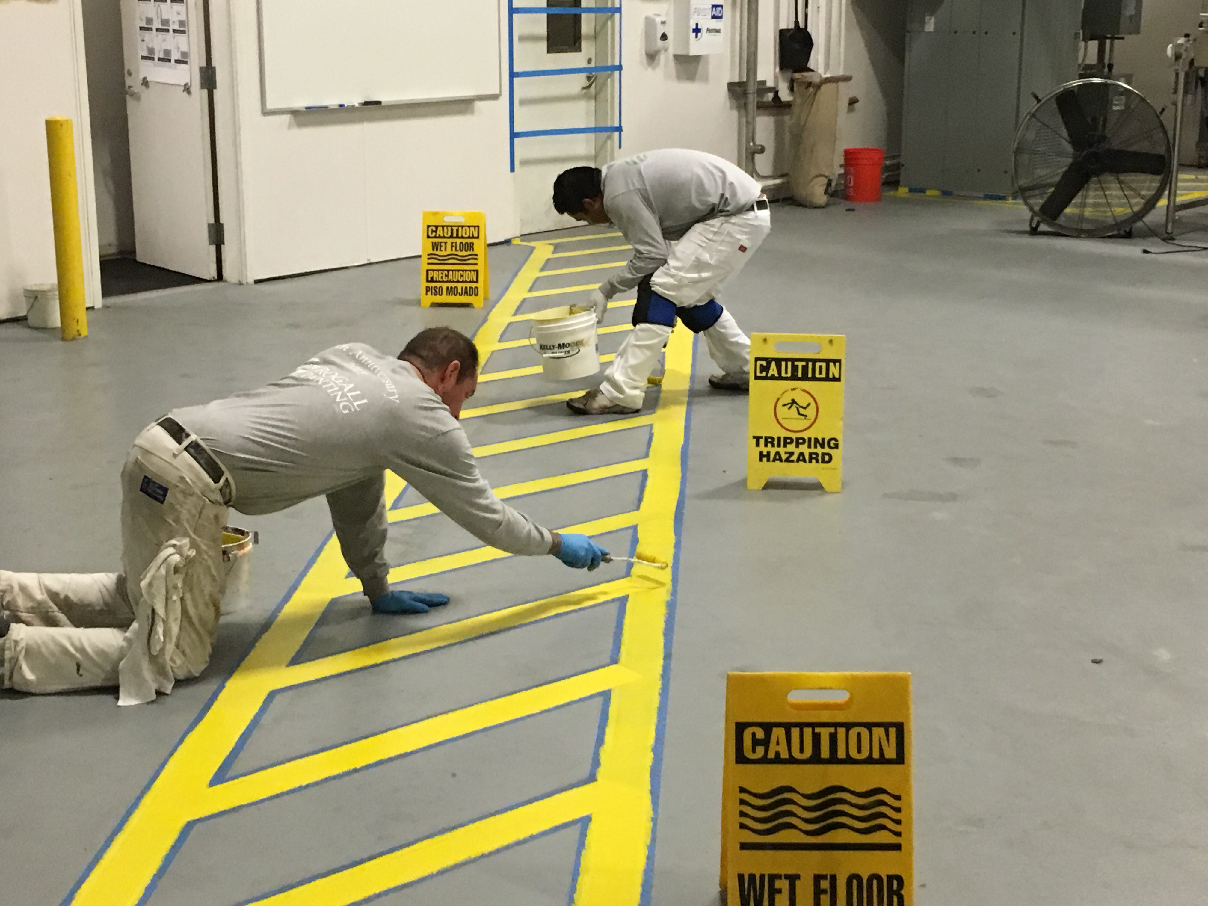 Would Painting Floor Lines Benefit Your Commercial